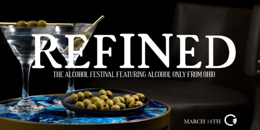 Refined The Alcohol Festival Featuring Only Alcohol From Ohio